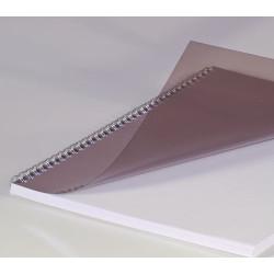 Couvertures PVC A4 20/100 Prestige - FUME