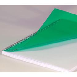 Couvertures PVC A4 20/100 Prestige - VERT