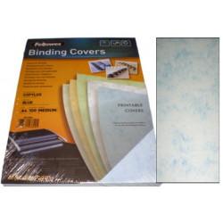 Dos de couvertures A4 Copylux 160g - BLEU