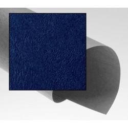 Dos de couvertures A4 Grain Cuir 250g - BLEU MARINE