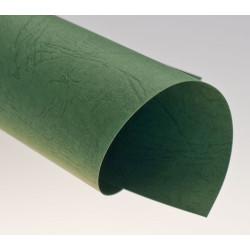 Dos de couvertures A4 Grain Cuir 250g - VERT FONCE