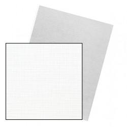 Dos de couvertures A4 Linen 250g - BLANC