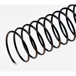Spirales hélicoïdales / Ø 14mm - NOIR
