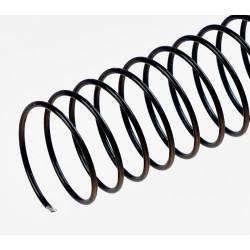 Spirales hélicoïdales / Ø 9mm - NOIR