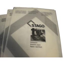 Papier lubrifiant - Paquet de 10 feuilles A4 STAGO