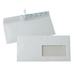 Enveloppes Auto-Adhésives 110x220 fenêtre 45x100mm