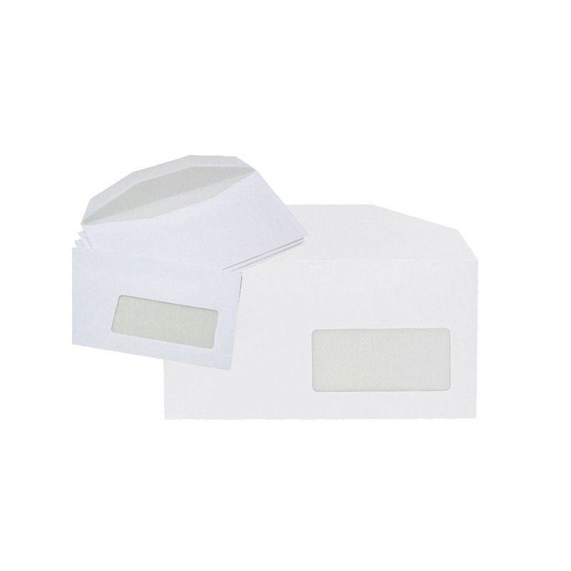 Enveloppes mécanisables Spécial Numérique 114x229 - fenêtre 45x100mm 20BD/20BB