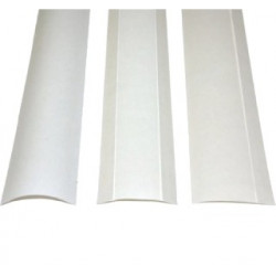 Bandes thermocollantes Perfectback Strip.S - LF Médium Format A4 -  BLANC.