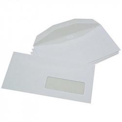 Enveloppes mécanisables 114x229 - fenêtre 35x100mm 20BD/20BB