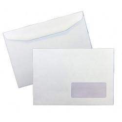 Enveloppes mécanisables 162x229 - fenêtre 45x100mm 20BD/20BB