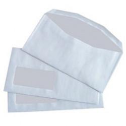 Enveloppes mécanisables inversées 114x229 - fenêtre 45x100mm 109BD/20BB