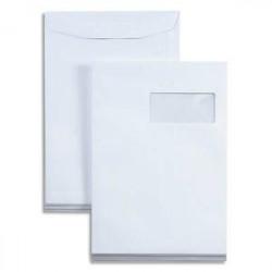 Pochettes mécanisables 229x324 - fenêtre 110x50mm 52BD/20BB