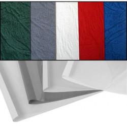 Couvertures préencollées Prestige Grain Cuir - BLANC 1,5mm