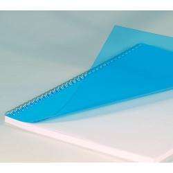 Couvertures PVC A4 20/100 Prestige - BLEU