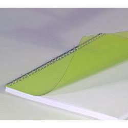 Couvertures PVC A4 20/100 Prestige - JAUNE