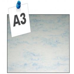 Dos de couvertures A3 Copylux 200g - BLEU