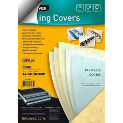 Dos de couvertures A4 Copylux 160g - OCRE