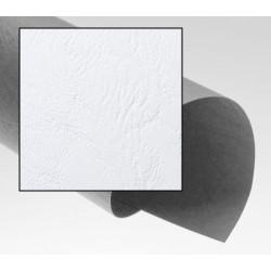 Dos de couvertures A4 Grain Cuir 250g - BLANC