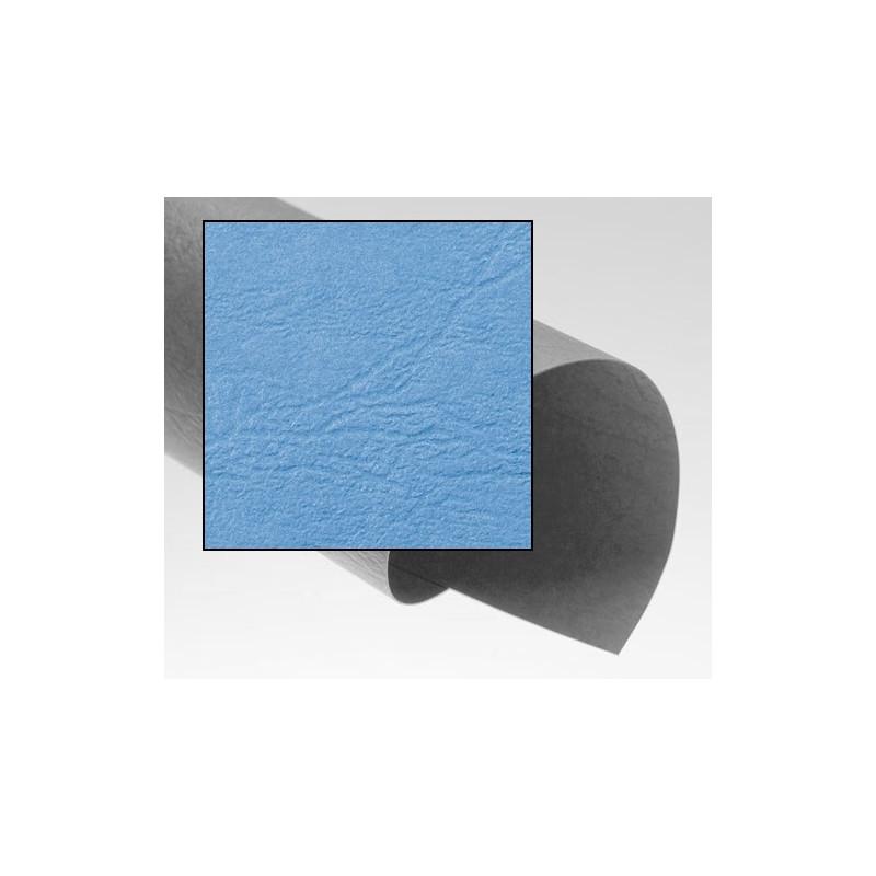 Dos de couvertures A4 Grain Cuir 250g - BLEU HORIZON
