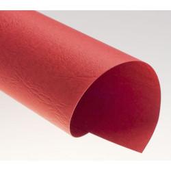 Dos de couvertures A4 Grain Cuir 250g - ROUGE