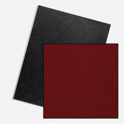 Dos de couvertures A4 Linen 250g - ROUGE UK