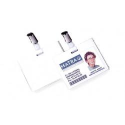 Badge de sécurité 90x60mm - BLANC