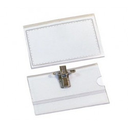 Badge PVC avec clip/épingle