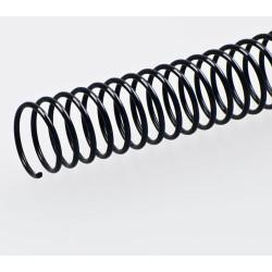 Spirales hélicoïdales / Ø 12mm - NOIR