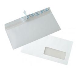 Enveloppes Auto-Adhésives 110x220 - fenêtre 35x100mm 20BD/20BB