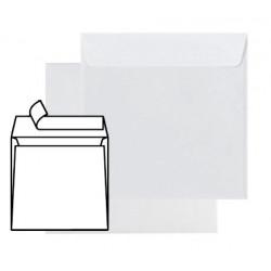 Enveloppes Auto-Adhésives Carrées 165x165 - sans fenêtre