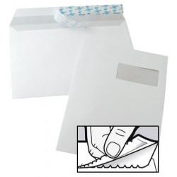 Enveloppes Auto-Adhésives 229x324 - fenêtre 105x50mm 52BD/20BB