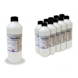 Gel désinfectant pour les mains MEDIC-PLUS avec pompe - Flacon de 500ml Vendu x 10 flacons de 500ml COVID-19