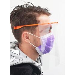 Visière faciale transparente - Protection contre les éclaboussures.