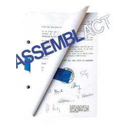 Kit de démarrage pour Reliure Notariale Assembact