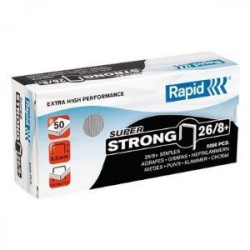 Agrafes 26/8+ RAPID SuperStrong