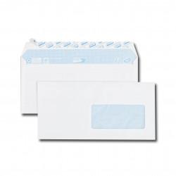 Enveloppes Auto-Adhésives 110x220 - fenêtre 45x100mm 20BD/20BB