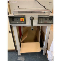 Massicot manuel 4205 sur stand IDEAL