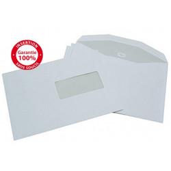 Enveloppes mécanisables 162x229 - fenêtre 50x100mm 20BD/60BB