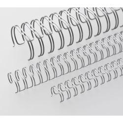Anneaux métalliques 23 boucles 8.0 mm - ARGENT MAT