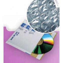 Pochettes CD cartonnées 450gr, format 180x160 - intérieur Bulles