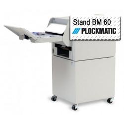 Stand métallique sur roulettes - Option agrafeuse-plieuse PLOCKMATIC BM 60